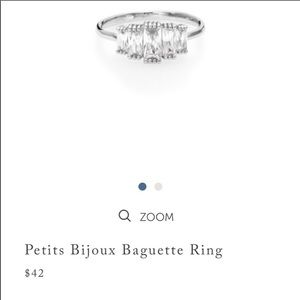 Chloe + Isabel Jewelry - Chloe and Isabel petit Bijoux Baguette Ring